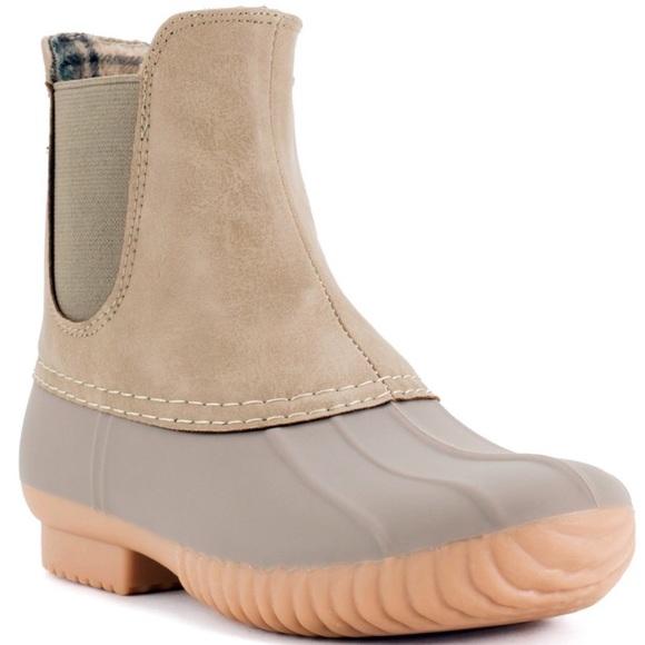 Lace Duck Boots Rain Boots | Poshmark